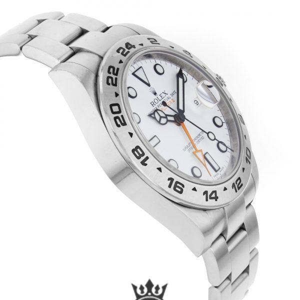 Rolex Explorer Replica 216570 001 Silver Strap 42MM