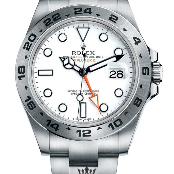 Rolex Explorer Replica 216570 001 Silver Strap 42MM