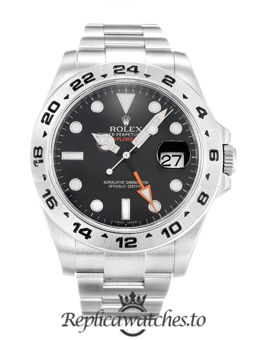 Rolex Explorer Replica 216570 Silver Strap 42MM