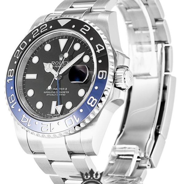 Rolex GMT Master Replica 116710 BLNR Black & Blue Bezel 40MM