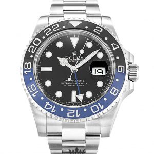 Rolex GMT Master Replica 116710 BLNR Black & Blue Bezel 40MM