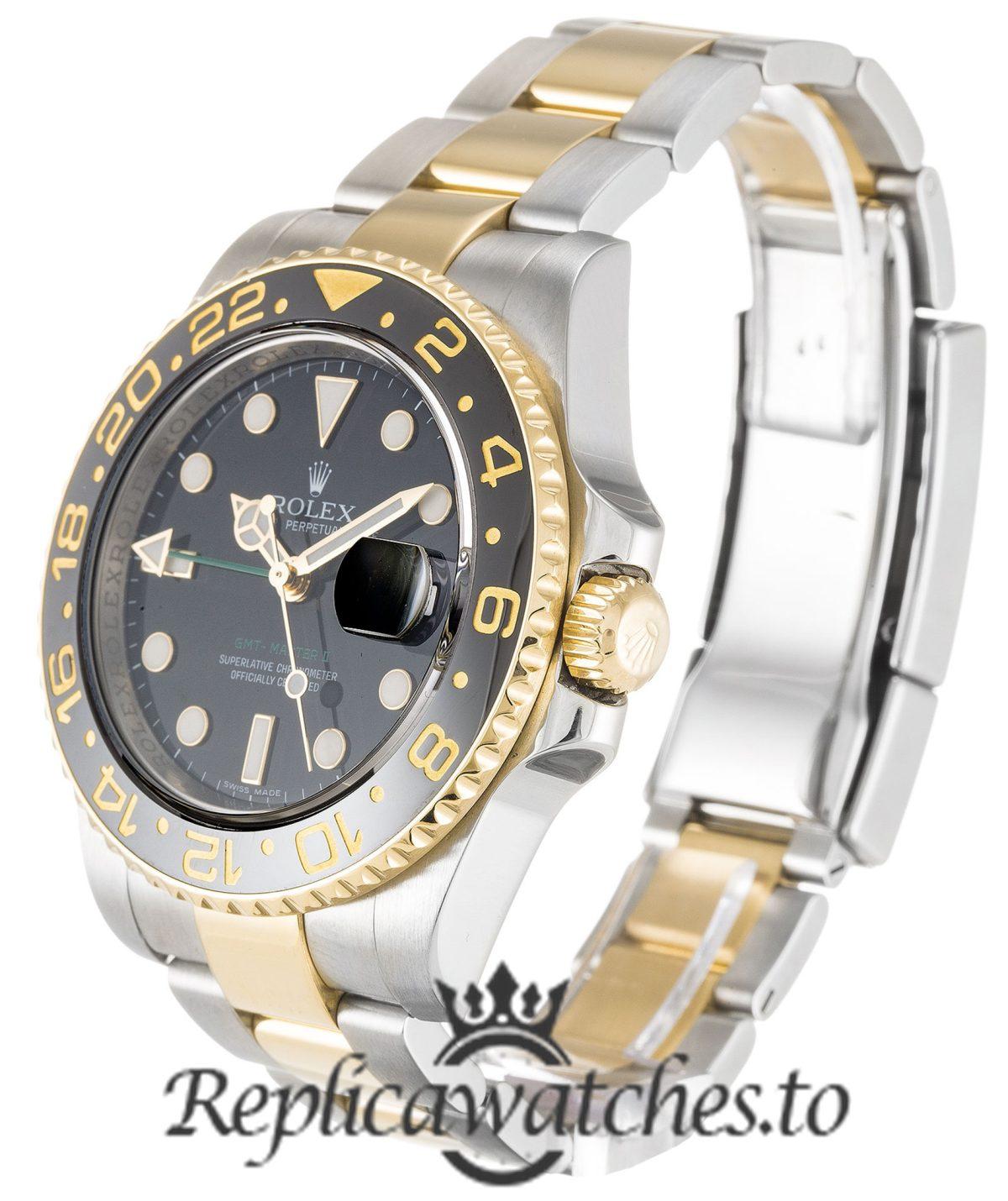 Rolex GMT Master Replica 116713 LN Black Bezel 40MM