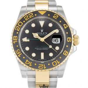 Rolex GMT Master Replica 116713 LN Black Bezel 40MM