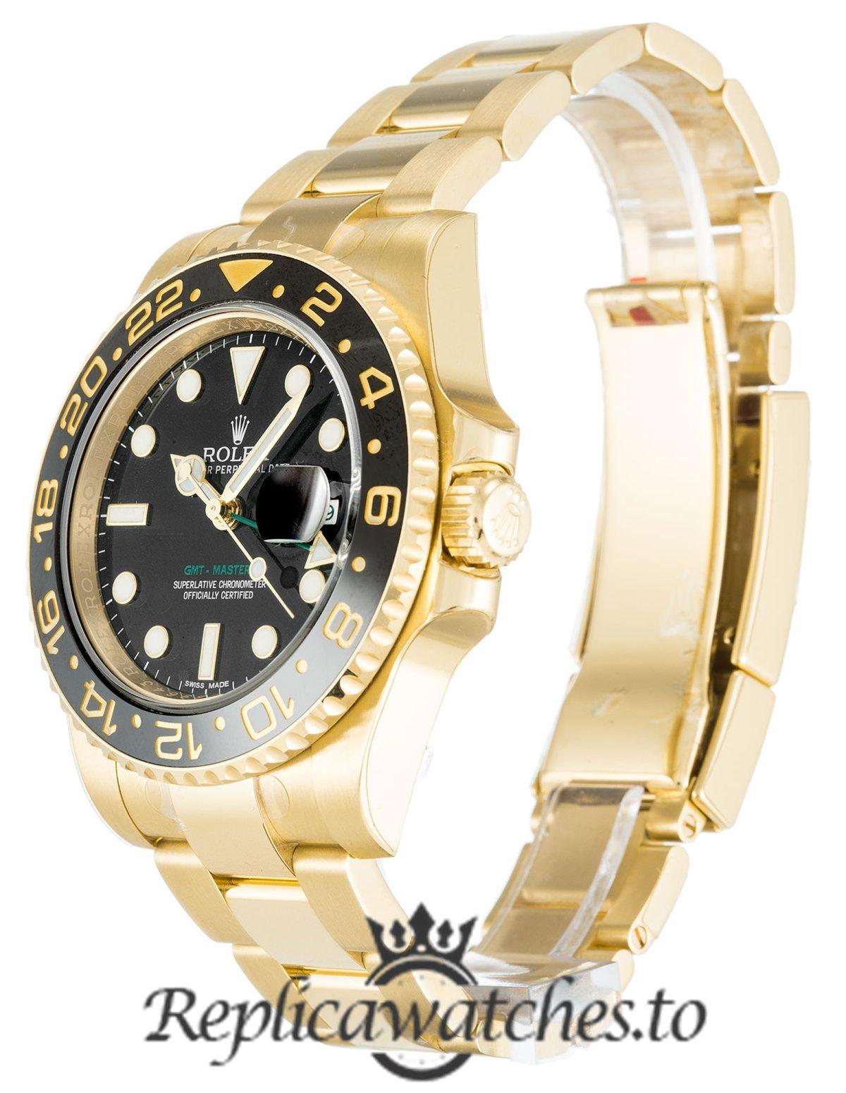 Rolex GMT Master Replica 116718 LN Black Bezel 40MM