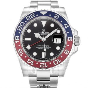 Rolex GMT Master Replica 116719 BLRO 001 Blue & Red Bezel 41MM
