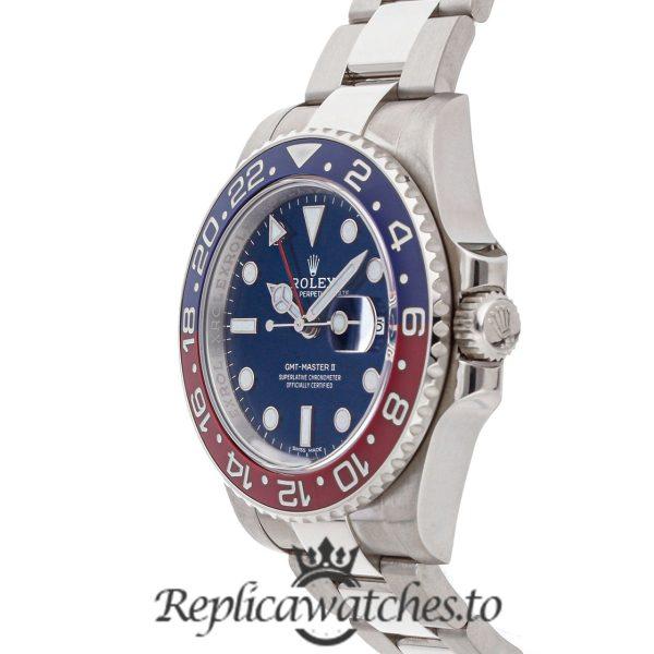 Rolex GMT Master Replica 116719BLRO Blue & Red Bezel 40MM