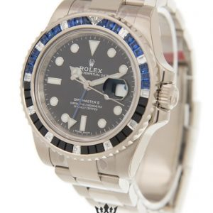 Rolex GMT Master Replica 116749 SABLNR Blue & Black Bezel 40MM