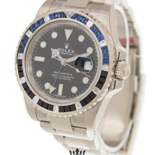 Rolex GMT Master Replica 116749 SABLNR Blue & Black Bezel 40MM
