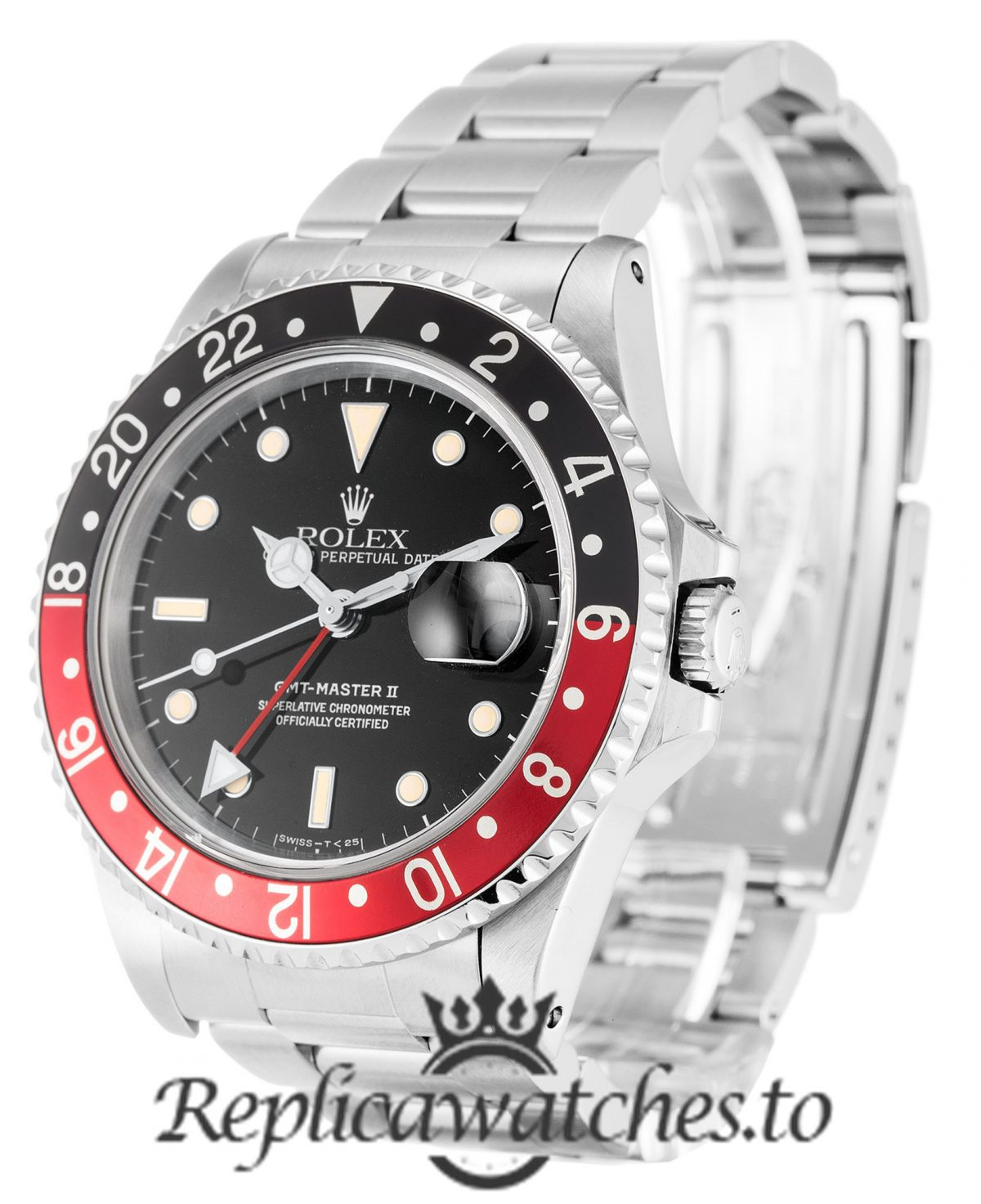 Rolex GMT Master Replica 16710 Black & Red Bezel 40MM