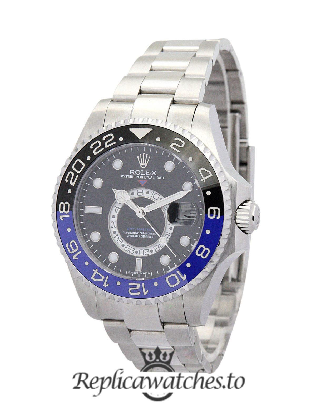 Rolex GMT Master Replica 16720 002 Black Bezel 40MM