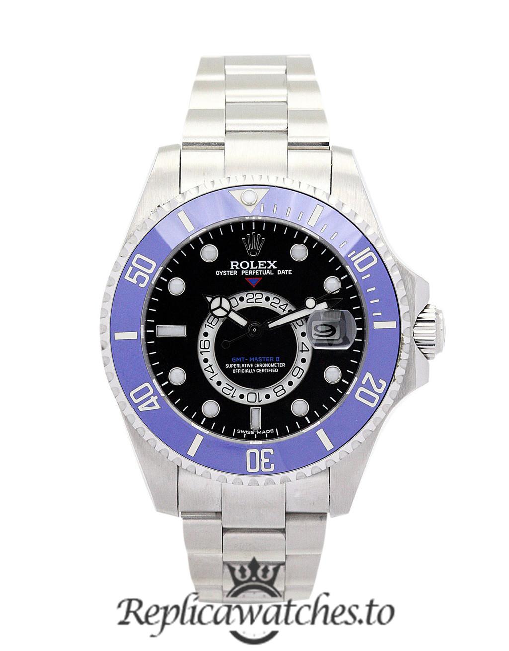 Rolex GMT Master Replica 16720 003 Blue Bezel 40MM
