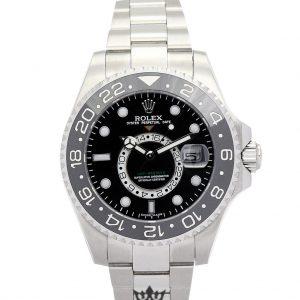 Rolex GMT Master Replica 16720 004 Silver Strap 40MM