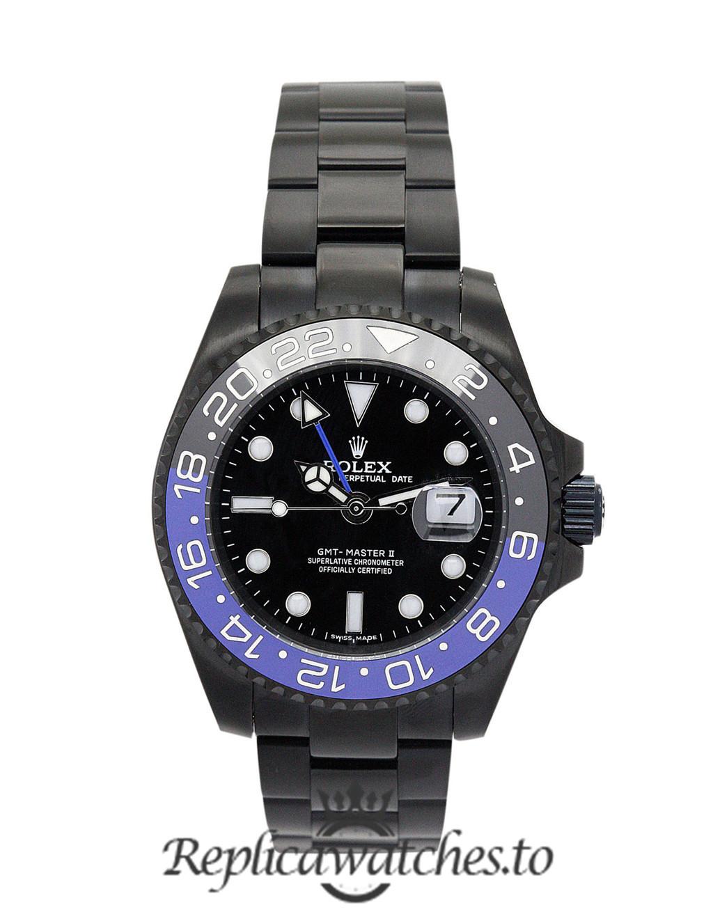 Rolex GMT Master Replica 16730 Black Strap