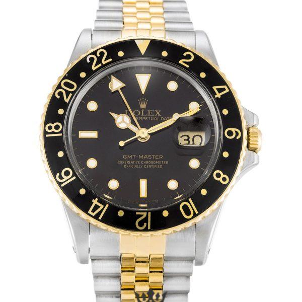 Rolex GMT Master Replica 16753 Black Bezel 38MM