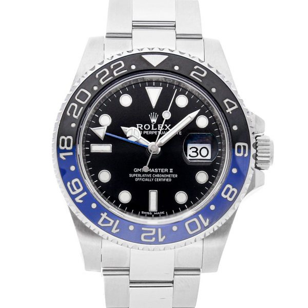 Rolex Gmt-Master Replica 116710BLNR Black Dial 40MM