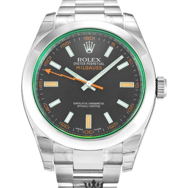 Rolex Milgauss Replica 116400 GV Silver Strap 40MM