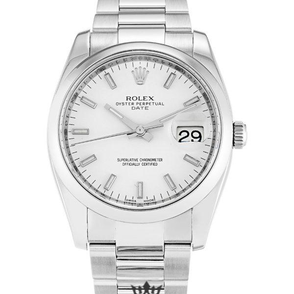 Rolex Oyster Perpetual Replica 115200 002 Silver Strap 34MM