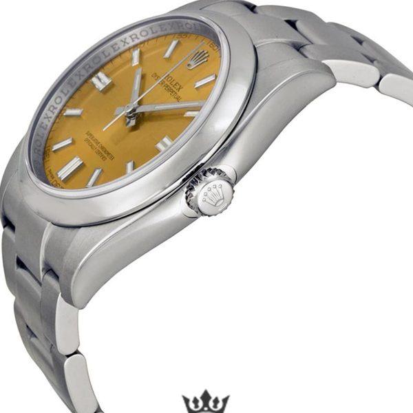 Rolex Oyster Perpetual Replica 116000WGSO Silver Strap 36MM