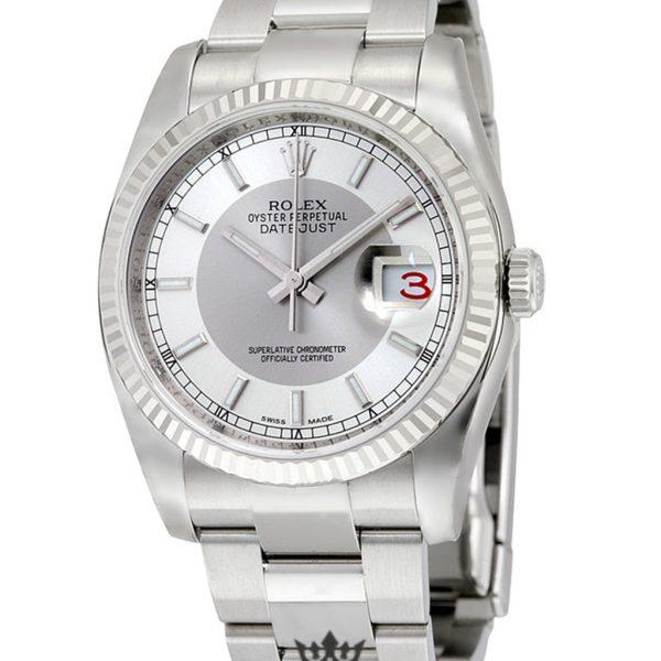 Rolex Oyster Perpetual Replica 116234SRSO Silver Strap 36MM