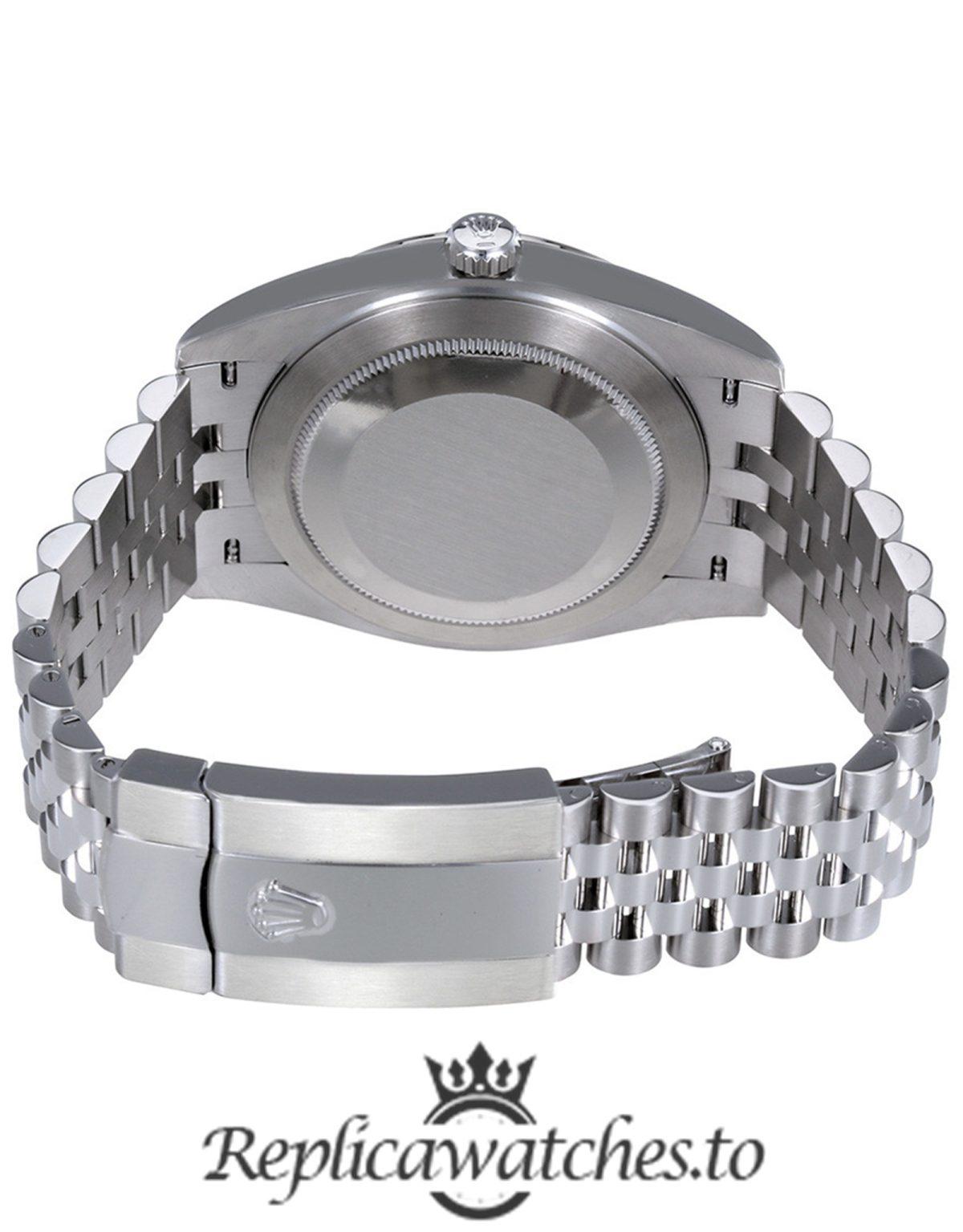 Rolex Oyster Perpetual Replica 126334MDJ Silver Strap 41MM