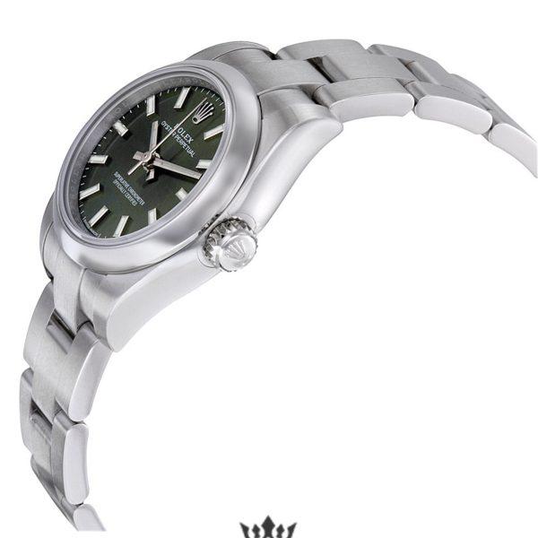 Rolex Oyster Perpetual Replica 176200 003 Silver Strap 26MM