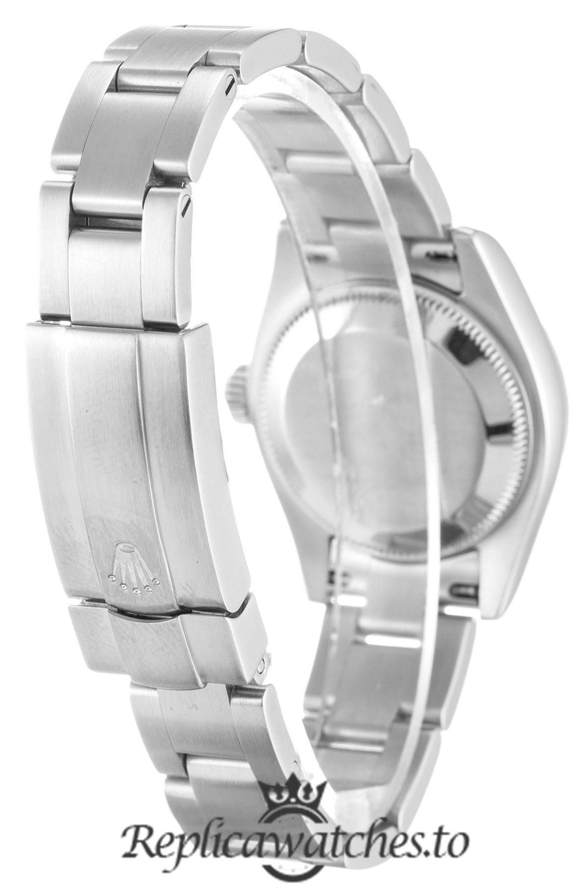 Rolex Oyster Perpetual Replica 176210 Silver Strap 26MM