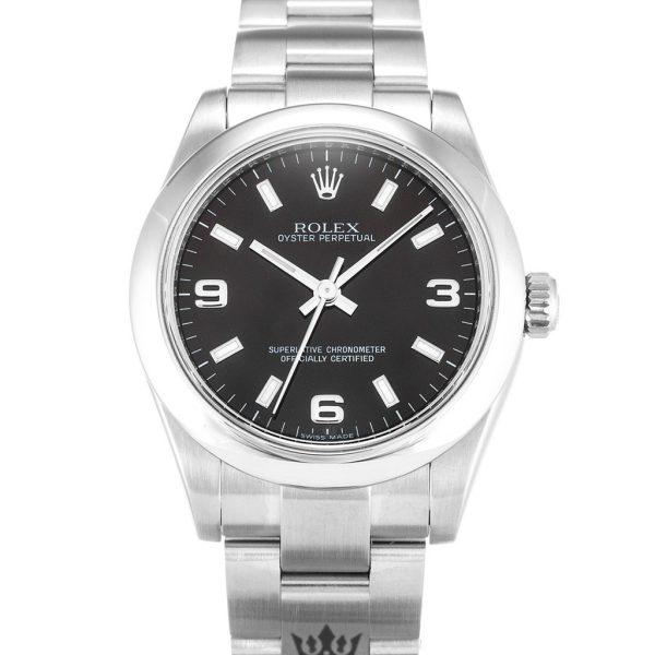 Rolex Oyster Perpetual Replica 177200 006 Silver Strap 31MM