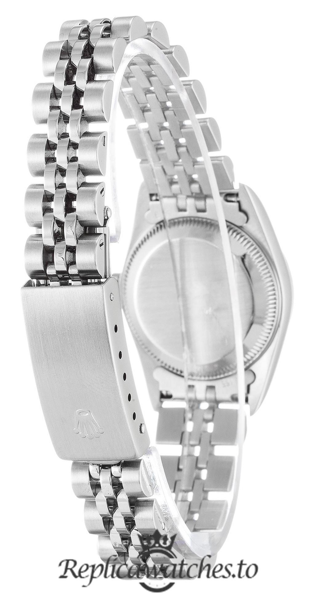 Rolex Oyster Perpetual Replica 67194 Silver Strap 24MM