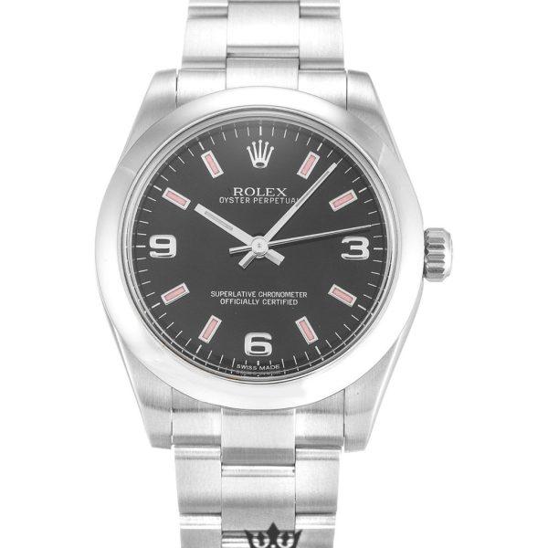 Rolex Oyster Perpetual Replica 177200 001 Silver Strap 31MM