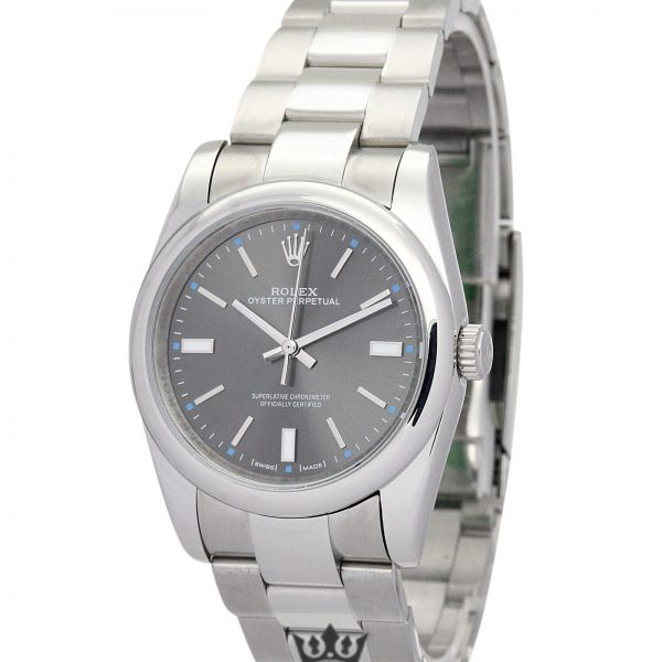 Rolex Oyster Perpetual Date Replica 177200 Silver Strap 31MM