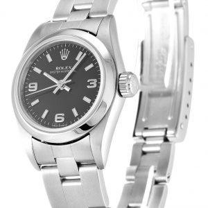 Rolex Oyster Perpetual Date Replica 67180 Silver Strap 26MM