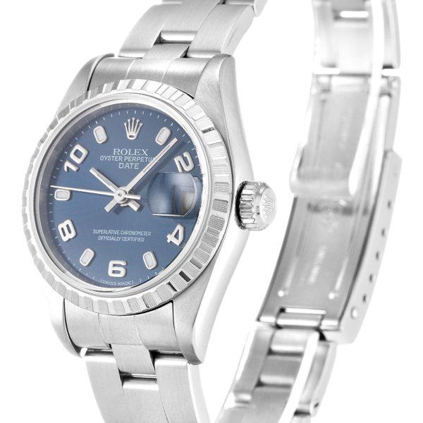 Rolex Oyster Perpetual Date Replica 79240 Silver Strap 26MM