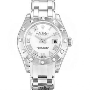 Rolex Pearlmaster Replica 80319 Diamond Bezel 29MM