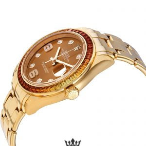 Rolex Pearlmaster Replica 86348SAJOR Yellow Gold Strap 39MM