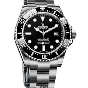Rolex Sea Dweller Replica 116600 Black Bezel 40MM
