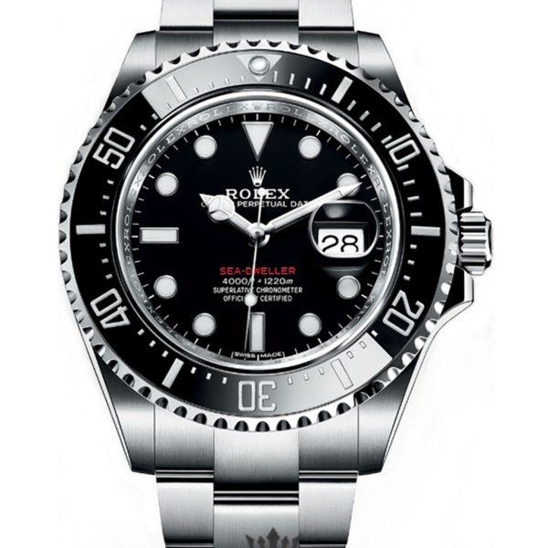 Rolex Sea Dweller Replica 126660 001 Black Bezel 43MM