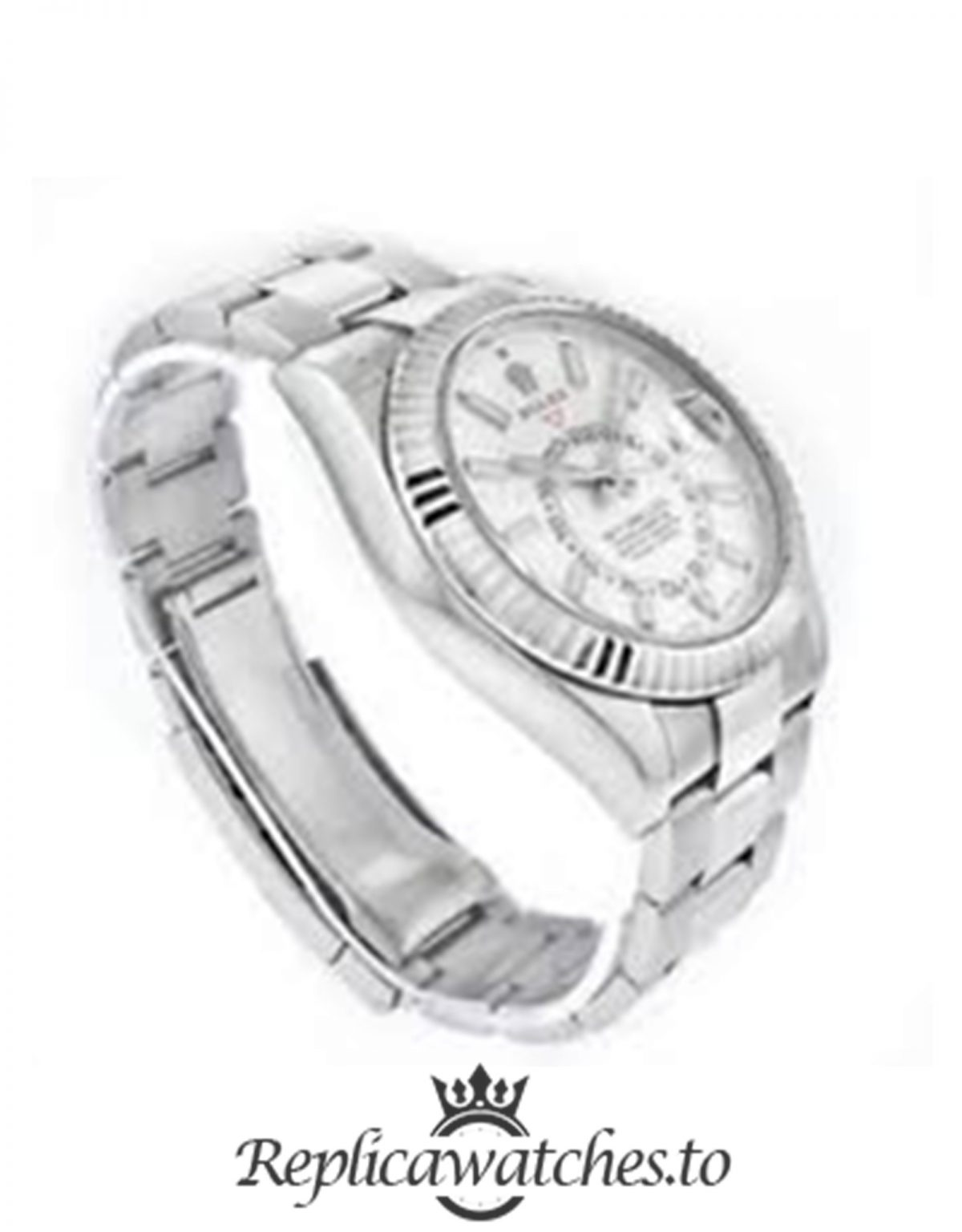 Rolex Sky Dweller Replica 326934 001 White Gold Strap 42MM