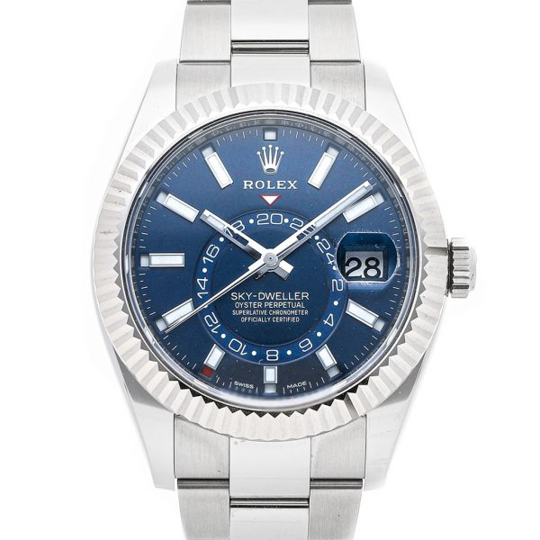 Rolex Sky-Dweller Replica 326934 Blue Dial 42MM