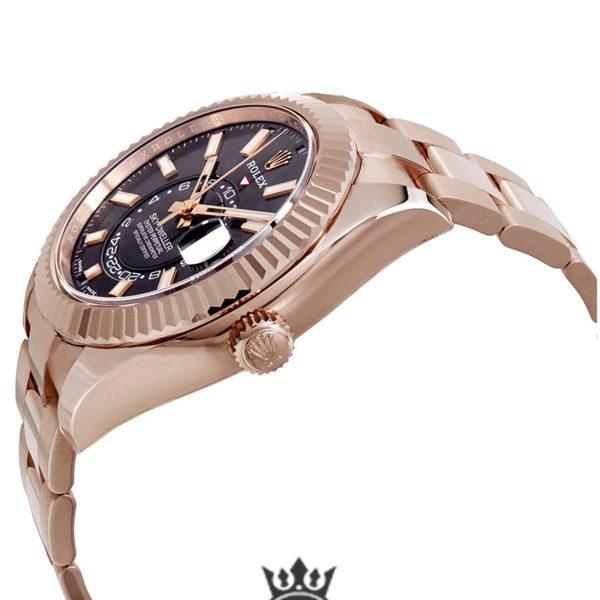 Rolex Sky Dweller Replica 326935DRSO Rose Gold Strap 42MM
