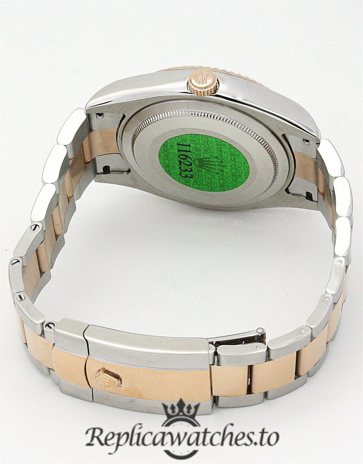 Rolex Sky Dweller Replica 326938 001 Rose Gold Bezel 42MM