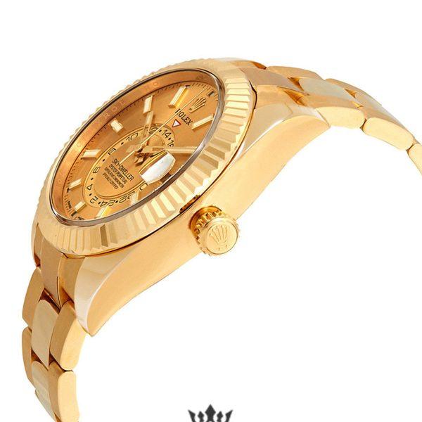 Rolex Sky Dweller Replica 326938CSO 001 Yellow Gold Bezel 42MM