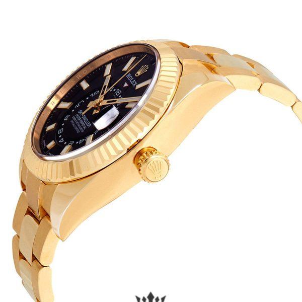 Rolex Sky Dweller Replica 326938CSO Yellow Gold Bezel 42MM