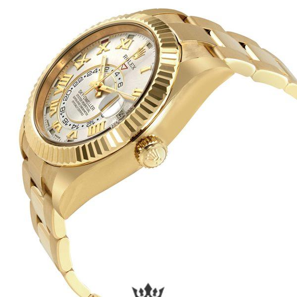 Rolex Sky Dweller Replica 326938SRO Yellow Gold Bezel 42MM