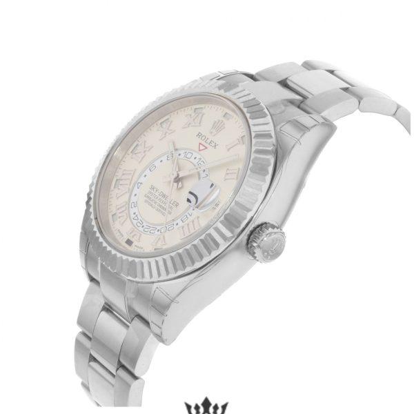 Rolex Sky Dweller Replica 326939 White Gold Strap 42MM