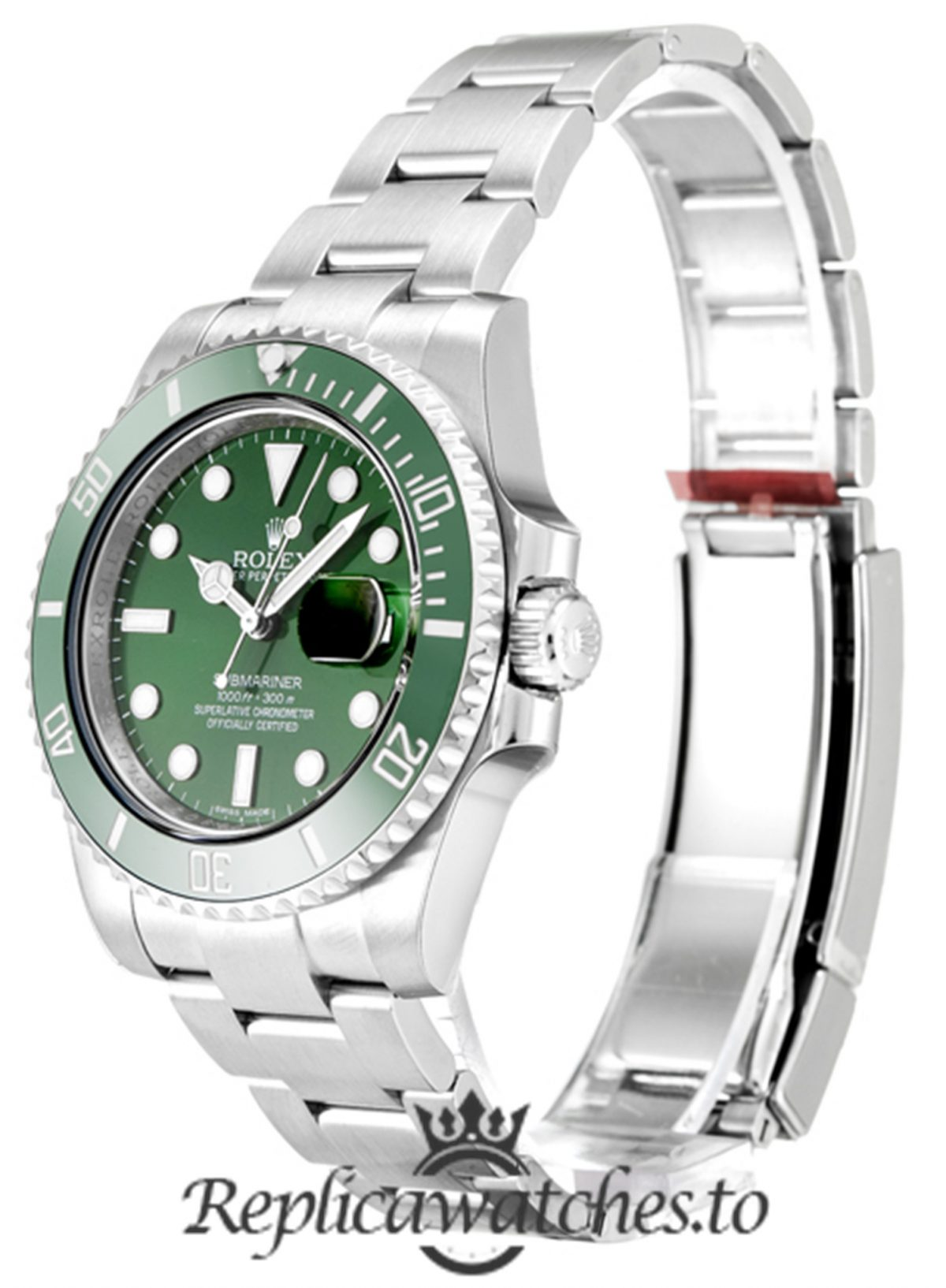 Rolex Submariner Replica 116610 LV Green Bezel 40MM
