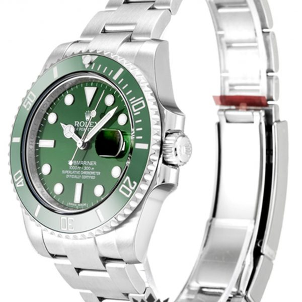 Rolex Submariner Replica 116610 LV Green Bezel 40MM