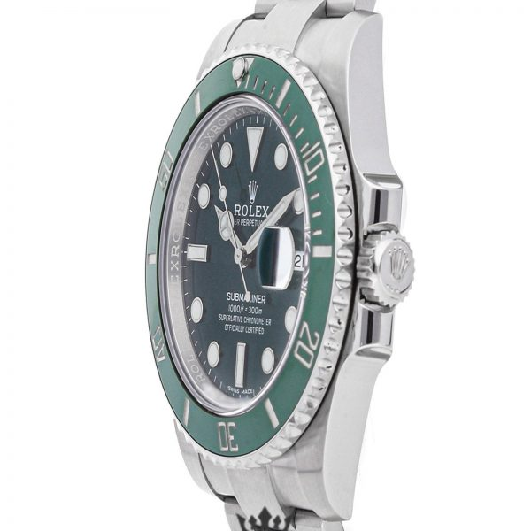 Rolex Submariner Replica 116610LV 002 Green Bezel 40MM