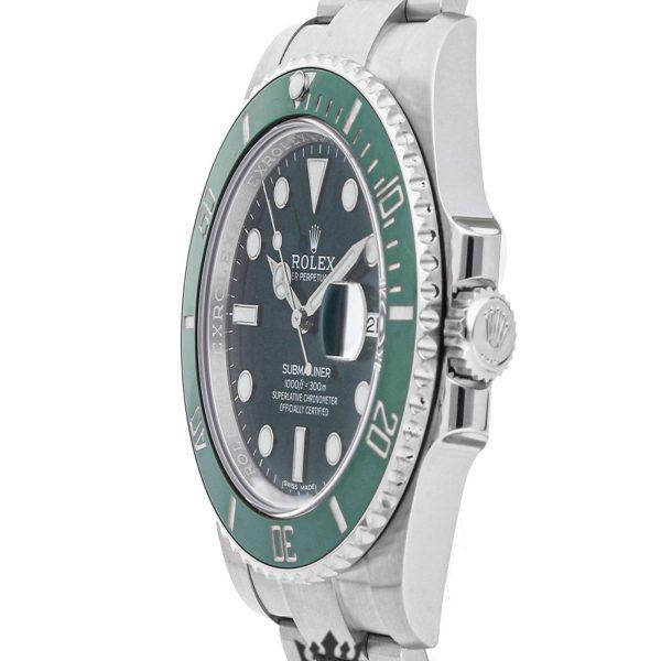 Rolex Submariner Replica 116610LV 002 Green Bezel 40MM