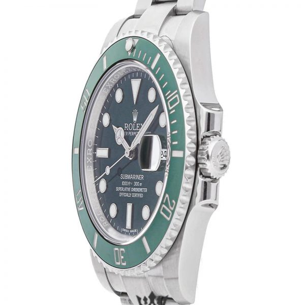 Rolex Submariner Replica 116610LV 003 Green Bezel 40MM