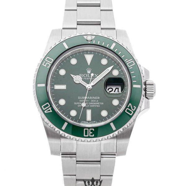 Rolex Submariner Replica 116610LV 003 Green Bezel 40MM